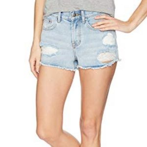 Destroyed High wasted Jean shorts